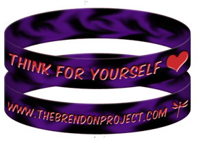 Think For Yourself Brendon Project Bracelet